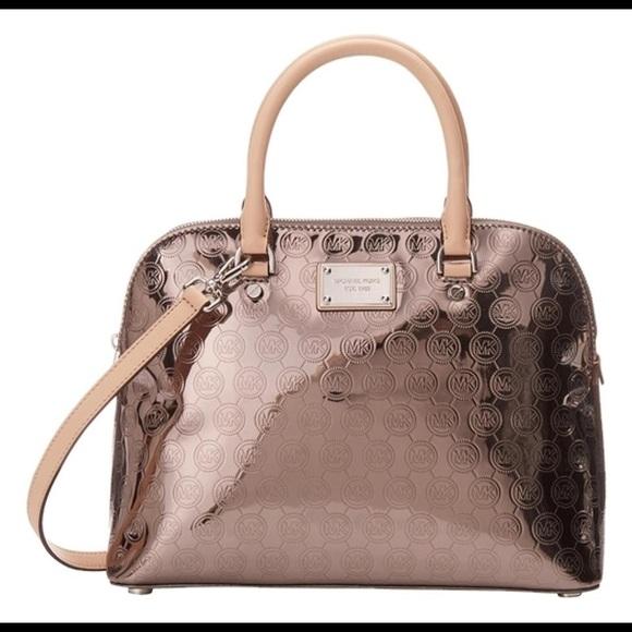 Michael Kors Handbags - Michael Kors/ Cindy Large Dome Satchel